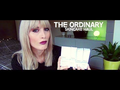 MichelaIsMyName: The Ordinary Skincare Haul | MICHELA ismyname ❤️