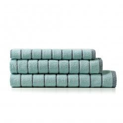 Home Republic Subway Textured Geo Towel Range Peppermint