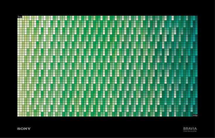 Sony Bravia: Green