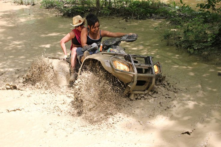 mudding | Atv Mudding Pictures...silly boys girls can mud too...