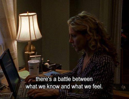 every once in a while, carrie bradshaw had some winners.
