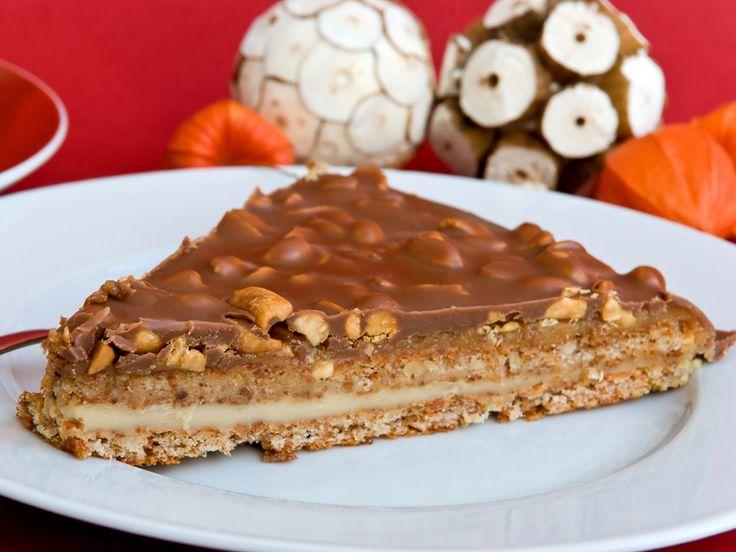 Das leckere Bonbon aus Butter-Mandel-Karamell mit Schokoladenhülle stammt ursprünglich aus Schweden. Mit unserem Rezept können Sie damit eine cremige Torte backen.