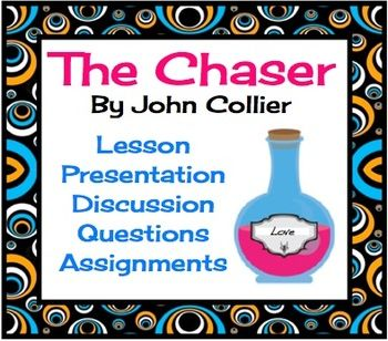 """the chaser john collier essay And """"the chaser"""" by john collier thematic discussion: recognition of love plot structure: """"a & p"""" by john updike skills: follow actions of main character to identy assessment: essay writing impact of narrative point of view in connection with reader's central understanding of theme character: """"the jilting of granny."""