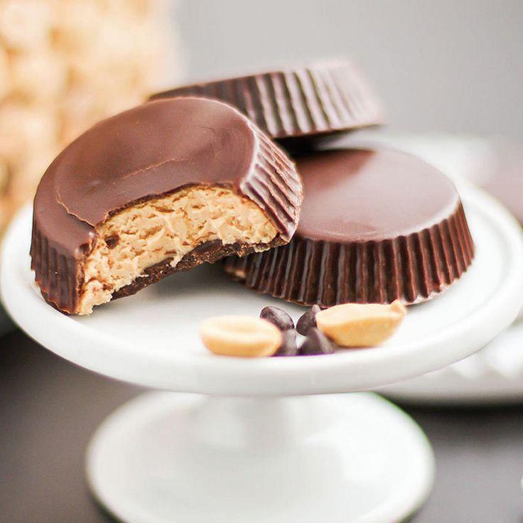 Low-Carb Desserts: Homemade Peanut Butter Cups - Fitnessmagazine.com