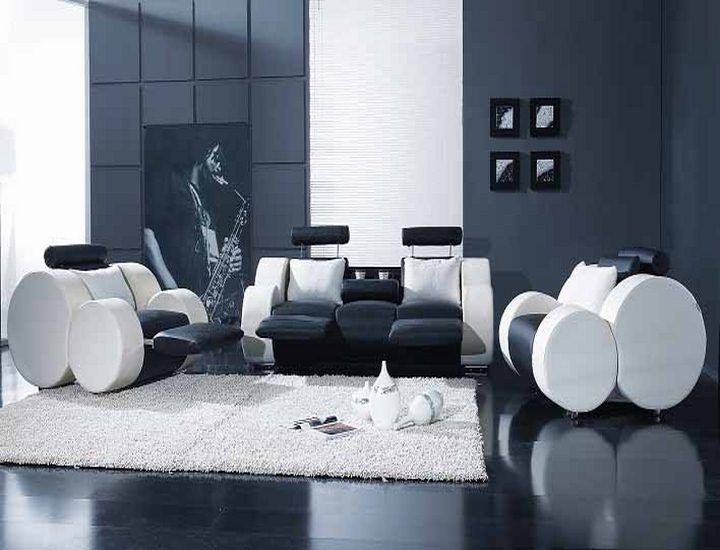 black lacquer living room furniture