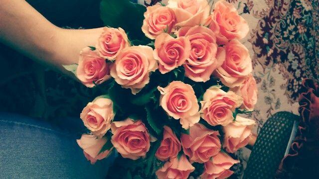 Gorgeous roses for grandma