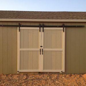 Best 25 exterior barn doors ideas on pinterest diy Exterior sliding door track systems