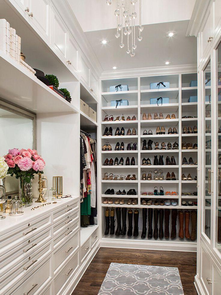 Modern Fashion Bedroom Furniture Walk in Closet Standard