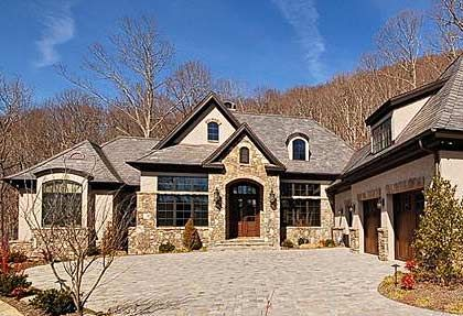 stucco and stone | Cliffs Homes for Sale | Cliffs at Walnut Cove | Ashville NC | North ...