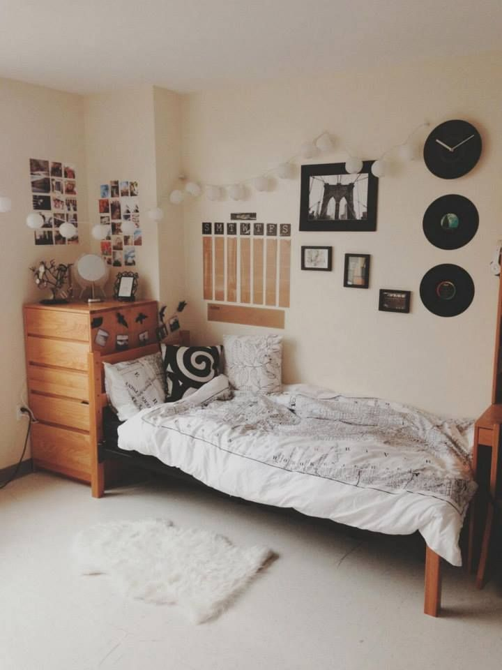 Rustic Cozy College Dorm Room Decor Ideas Diy White And Tan Color Scheme Bintage Vibes Boho