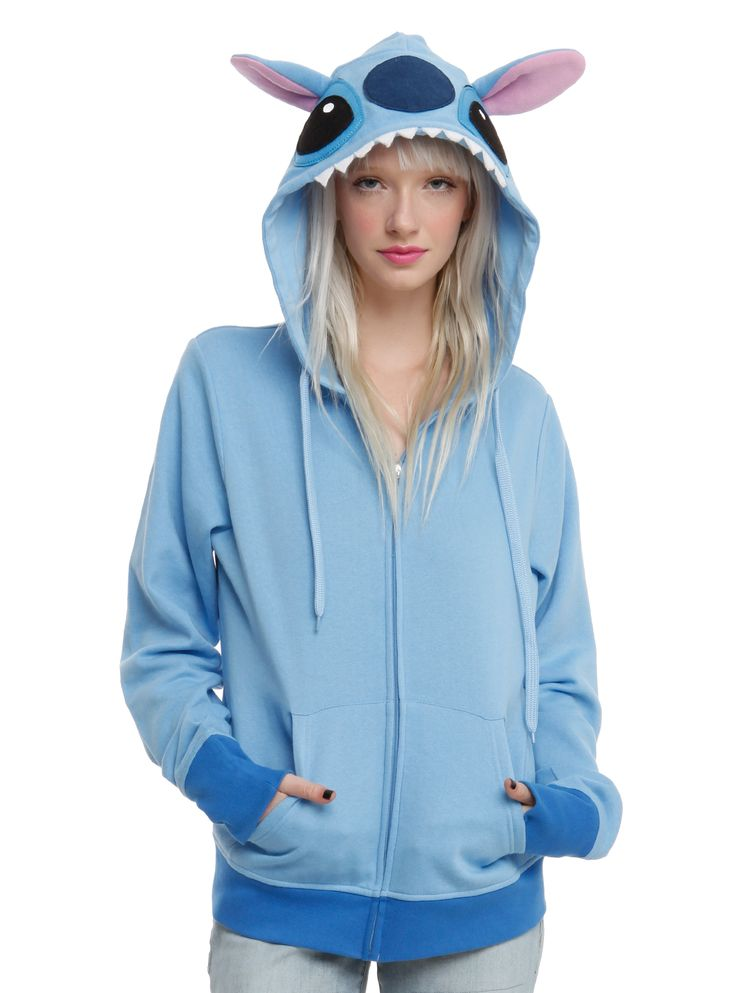 Disney Lilo & Stitch Girls Costume Hoodie | Hot Topic ...