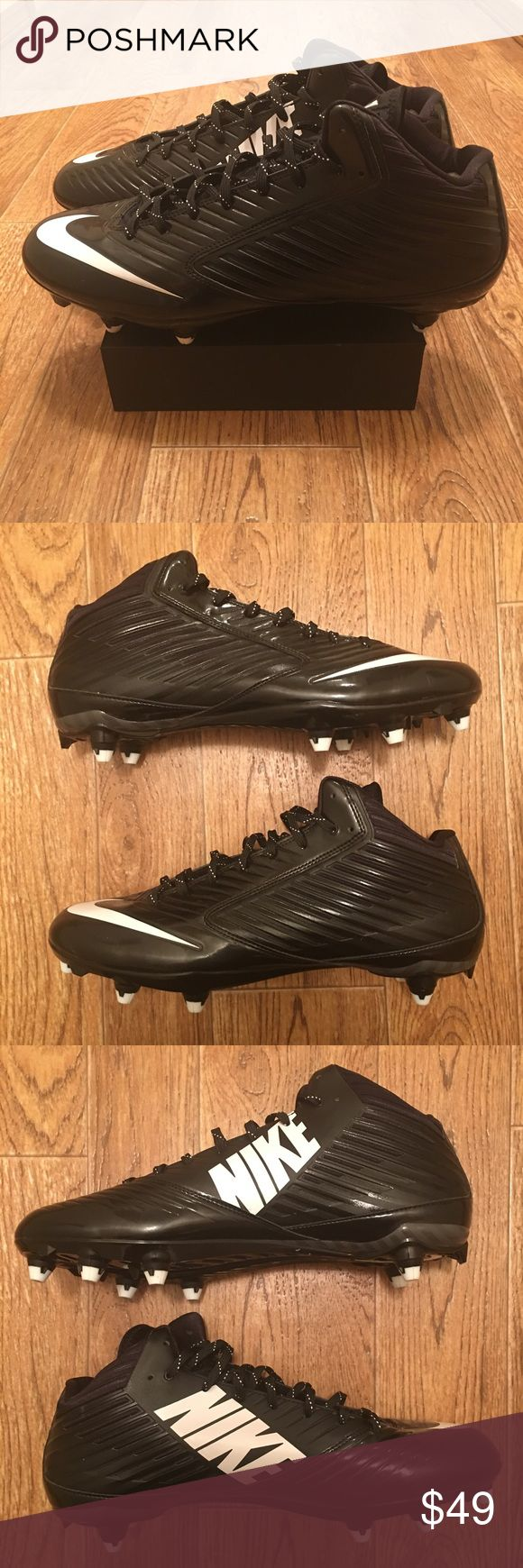 [Nike] Vapor Speed TD Mid Screw-On Football Cleat New Nike Vapor Speed TD Mid men's screw-on football cleats.   **Offers Accepted**    4174-BN1 Nike Shoes Athletic Shoes