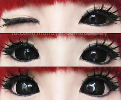 Phantasee Black Sabretooth Sclera lenses are super pigmented & opaque. The color pay off blows mind that makes them irresistible choice for Halloween.   Buy: http://www.uniqso.com/phantasee-black-sclera-lens-sabretooth