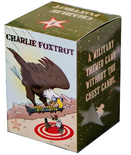 Charlie Foxtrot - Military Themed Card Game - 270 Cards: 65 Green (Question) Cards 205 Tan (Response) Cards