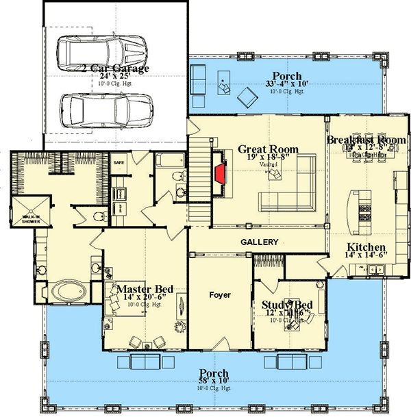 17 Best Images About House Plans With Potential Studio