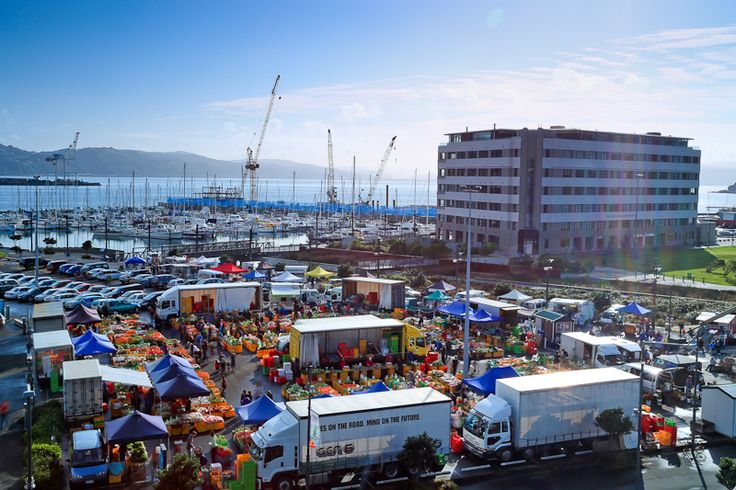 """One of my favourite things to do on a Sunday morning, is wander down to the Harbourside market for some fresh produce, bread and cheese. As Wellington's oldest and best loved market, it has something for everyone and it's just across the road from this inner city apartment building! Open 7:30am - 2:00pm every Sunday. Hope to see you there! John Kettle, Wellington Real Estate Agent - Apartment Specialist, """"AT HOME in the City"""". 23h"""