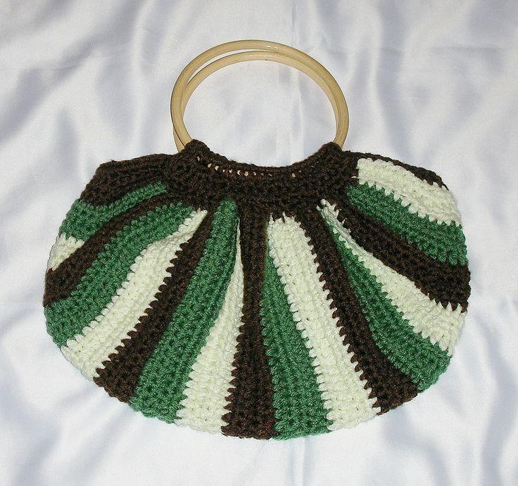 white green brown-bag