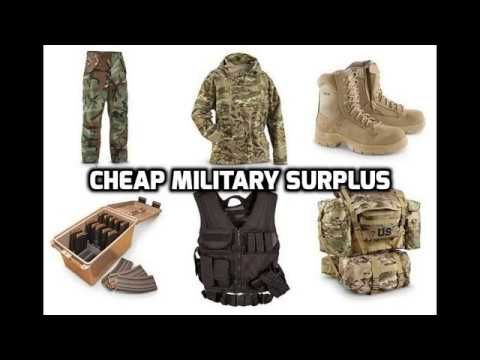 Military Surplus Gear For Sale