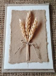 Wheat - Plantable Greeting Card