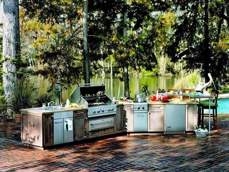 Best 25+ Outdoor kitchen plans ideas on Pinterest Outdoor grill - summer kitchen design