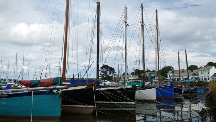 Working boats Mylor