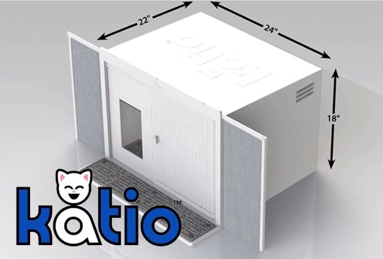 Introducing Katio: A Patio for Your Cat, a window air-conditioner-sized cat spot.