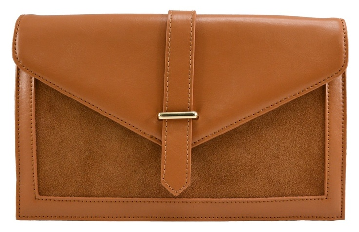 Brooklyn Leather Clutch in Brown - $89.00   Check it out at: http://www.bagaholics.com.au/leather-bags-c6/-brooklyn-leather-clutch-in-brown-p585/