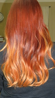 Madly Addictive: Red Ombre Hair