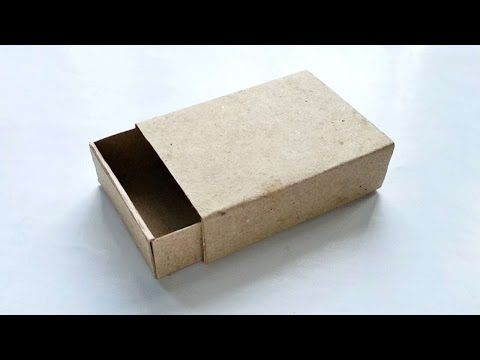 How To Create A Cardstock Matchbox - DIY Crafts Tutorial - Guidecentral - YouTube