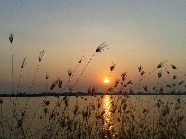 Sun set in Thailand