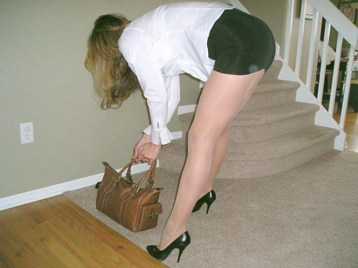 Short Skirt And Pantyhose 93