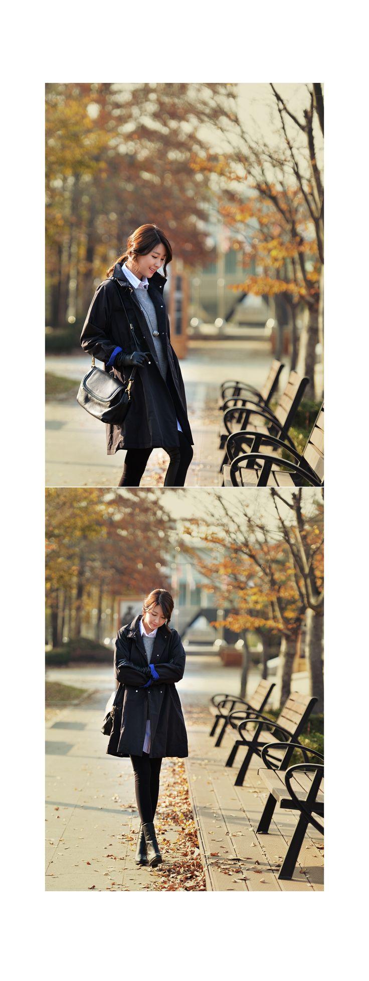 여성의류 쇼핑몰 오제이럭셔리 [[EJP16M7]프리다 본딩 트렌치 코트차가운 칼바람도 막아주는 프라다소재2온스 본딩작업으로 시크하면서도보온성이 높아 한겨울에도 멋스럽게~]