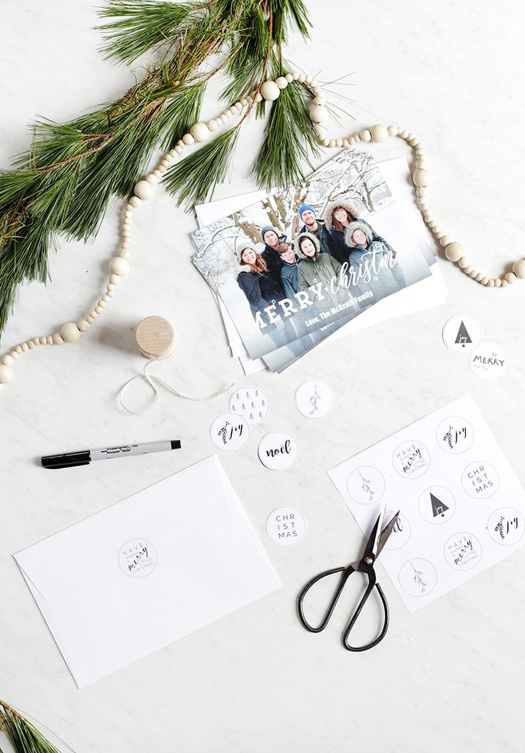 Printable holiday stickers holiday envelopes holiday