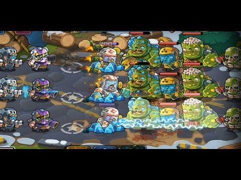 Elite Squad 2 HARD level 14 Full Victory Walkthrough gameplay (TD game)