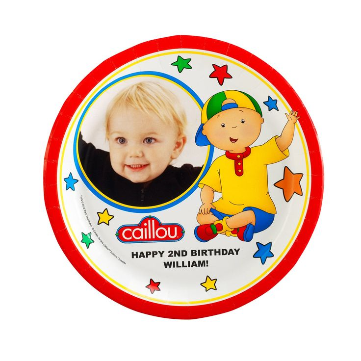8 best Caillou Birthday Party Ideas images on Pinterest Birthdays