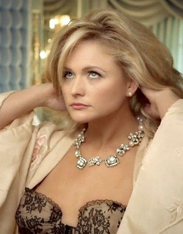 "Miranda Lambert is awesome this is when she takes all the make up off and is mad at her heart break and this is the video ""Mamas Broken Heart"""