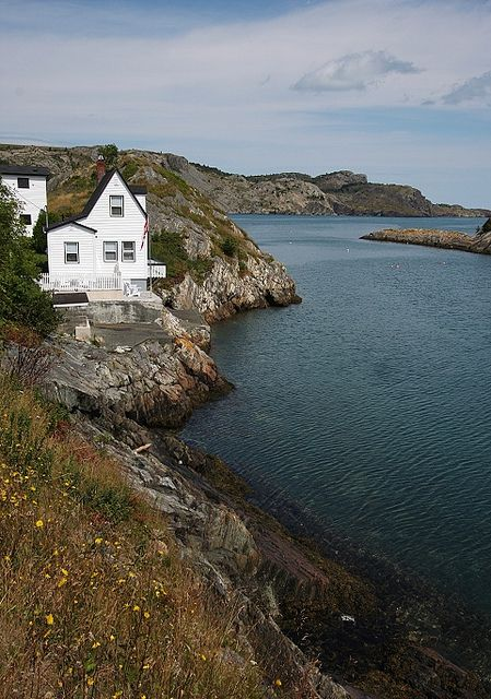 cutest house in Brigus, Newfoundland - so pretty!