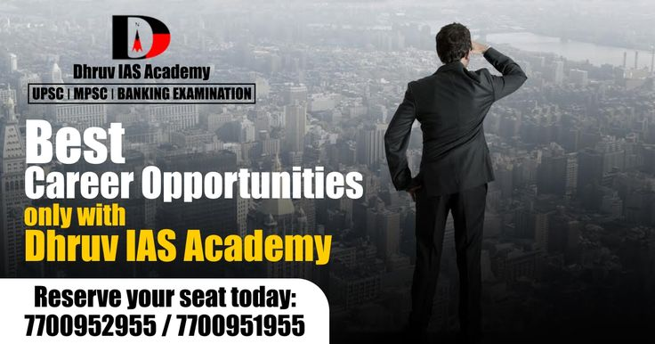 Are you looking for perfect career opportunities? Now it's a right time to choose your future goal for a successful life. #DhruvIASAcademy giving you better career opportunity with the perfect guidance of experts. Join our #UPSC #MPSC #Banking #Coaching & become #GoveronmentOfficer. Call us on 098197 73970, 098673 87609 For more details visit: www.iasdhruv.com Follow us on Twitter for more update: https://twitter.com/DhruvAcademy To make your preparation more perfect subscribe our youtube…