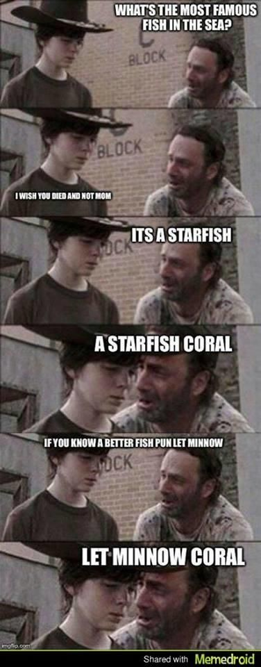 """Coral meme keeps going. Ha! """"...I wish you had died and not mom."""""""
