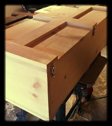 wooden casket | ... casket from north rustic design all of our pet caskets are handmade