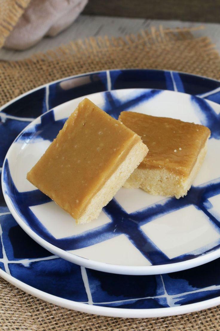 Ginger Crunch Slice - BakePlaySmile