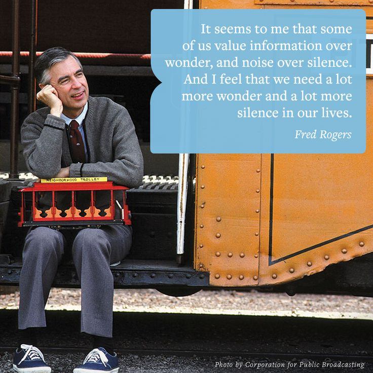 The ever-wise Fred Rogers on what we need more in our lives: wondrous silence.