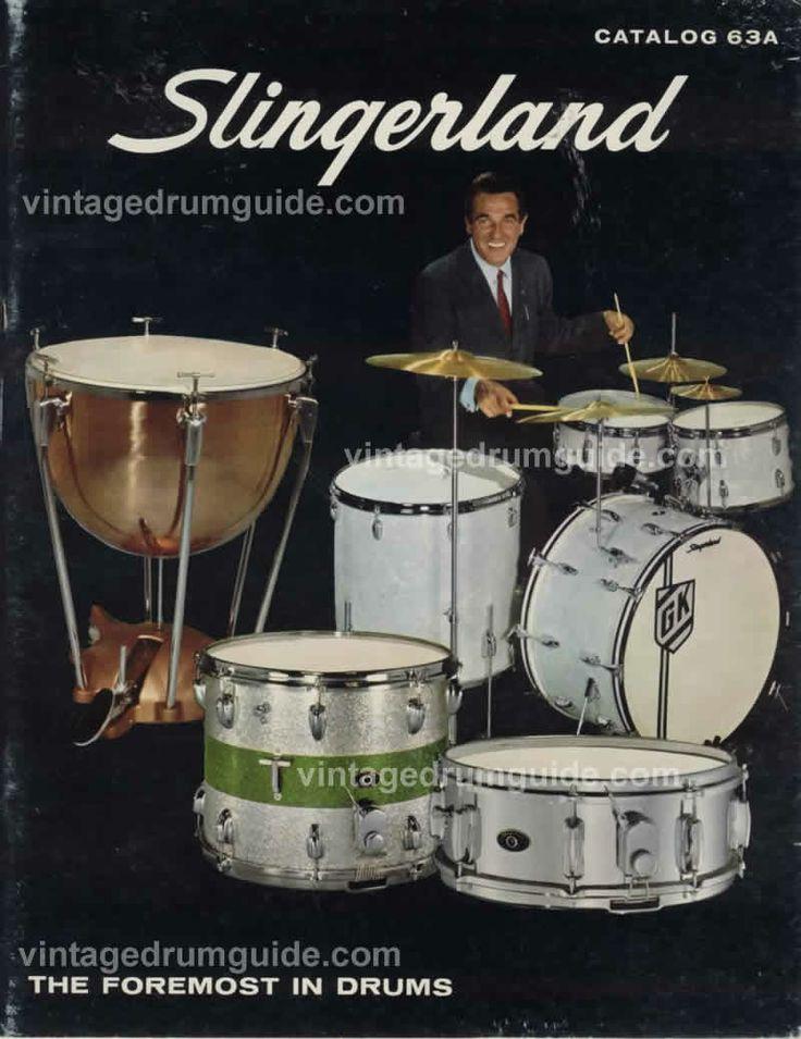 1963 Slingerland drum catalogue