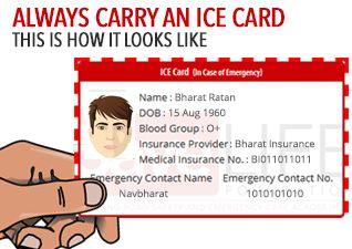 Emergency Card Template. medical emergency wallet card for medical ...
