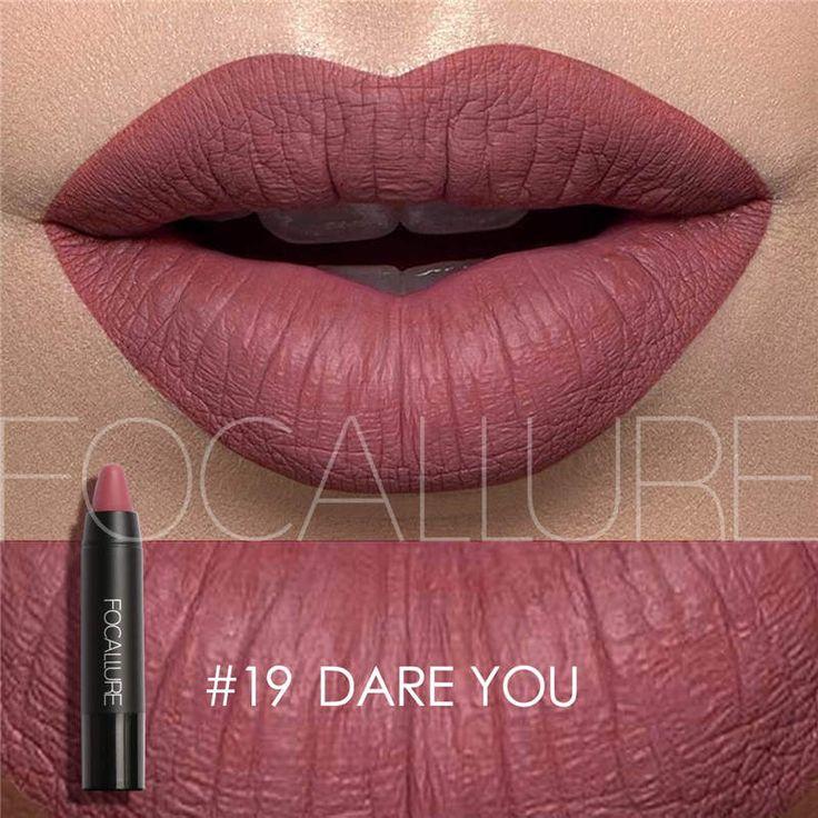 <b>FOCALLURE Matte Lipstick</b> Makeup Sexy Beauty Waterproof ...