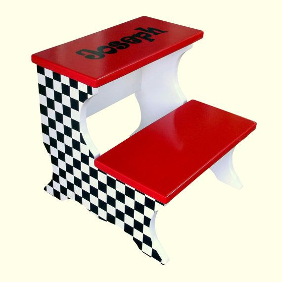 this precious custom childrens step stool is both beautiful and practical your little one will