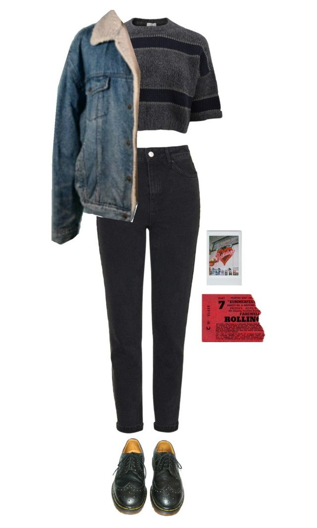 """""""wednesday"""" by julietteisinthe80s on Polyvore featuring Topshop, Brunello Cucinelli, Dr. Martens and Brandy Melville"""