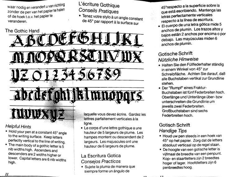 Escritura Gótica