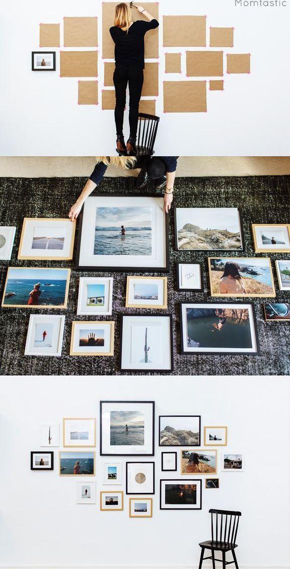 如果你想要的是照片墙而不是乡村十字绣,那就这样做(多图)