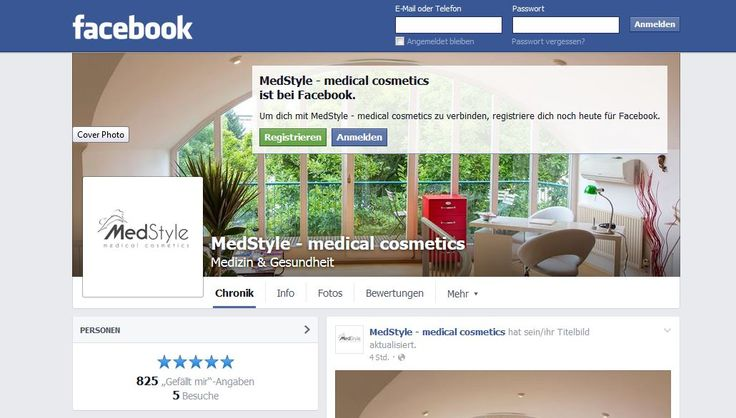 Der MedStyle Facebook Kanal https://www.facebook.com/medstyle.at